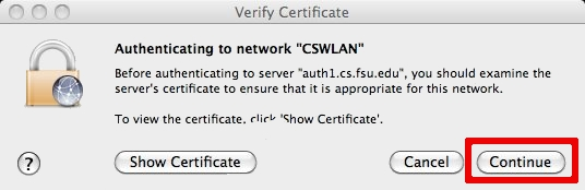 Check Certificates
